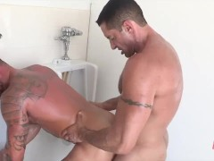 Michael Roman Fucked in Public Toilet by Nick Capra