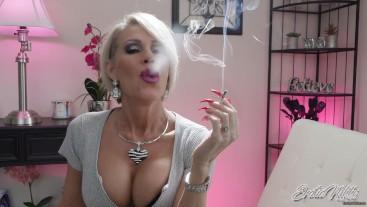Missed Chance To Smoke With Me - POV Smoking - Nikki Ashton