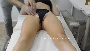 Sexy Milf with big Ass at Massage Room (watch the full video as Premium)