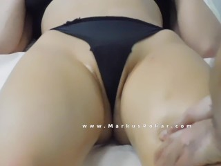 Sexy Mlf wth Sexy Bg Ass n a mnutes vdeo at Massage Room