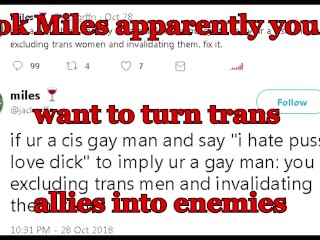 ok mles appare you want to turn trans alles nto enemes