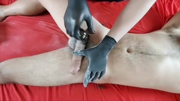 Straight millitary guy LONG & THICK DICK sugaring First Time