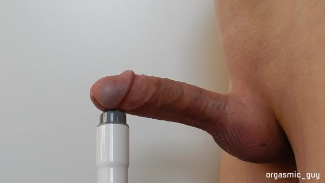 Review male sexual stimulants - Circumcised penis stimulated close to orgasm