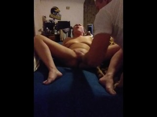 Back to back orgasms wth her wet ass pussy Gong crazy on the G spot