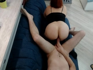 Redhead hot mature mom g rdes on dck mssonary amateur hard fuck