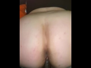 BBW getting dicked on the couch