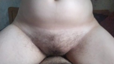 Quick unprotected creampie inside young fertile cunt