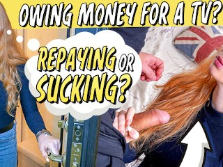Debt4k. young chick sucks strangers boner
