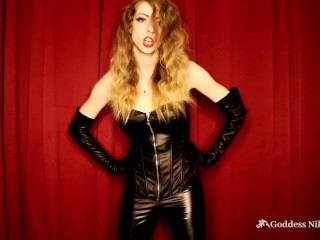 Stroke away your Free Will and Be My Slave JOI by Goddess Nikki Kit