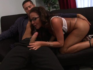 PAWG Boss Rdes Employees Hard Cock and Get Facaled n the Conference Room