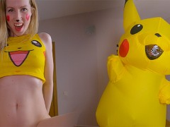 Pikachu Teenage Used Her Riding Skills To Get Impregnated! Supah Effective!