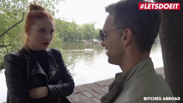 LETSDOEIT - Kinky Redhead Tourist Eva Berger Seduced By Horny Pornstar
