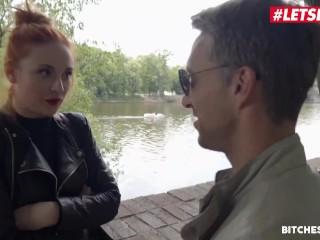 LETSDOET Redhead Tourst Eva Berger Seduced By Horny Poar Eva Berger, Lucky Lutro