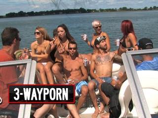 Way Porn Bg Boat Group Sex Party Part
