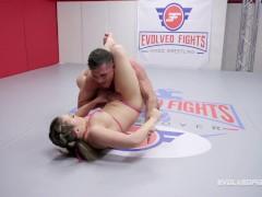 Carmen Valentina Mixed Nude Wrestling Vs Lance Hart For Rough Sex Reward