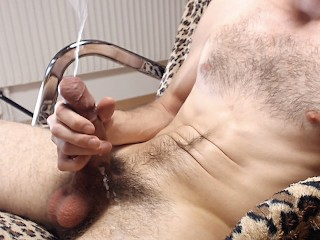 Cum twice extreme load hairy uncut cock...