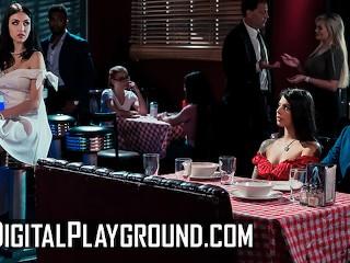 Dgtal Playground Gna Valentna Jade Baker sssor n the back room Gina Valentina, Jade Baker