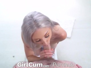 GIRLCUM Multiple Massage Orgasms For Lucky Tight Pussy