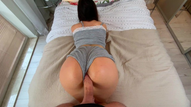 AMATEUR THICK CURVES Mia Love - PERFECT DOGGYSTYLE POV