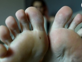 Role play/pov/enjoy socks foot my