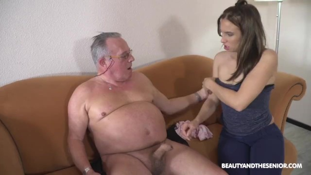 Granpda sex Grandpa loves his little slut