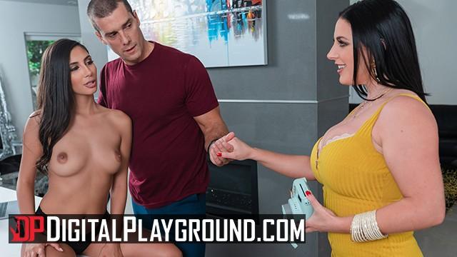 Kates photo playground porn Digital playground - two big tit assistants share big cock