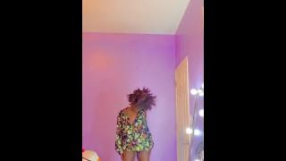 Ebony Slut Teasing Daddy