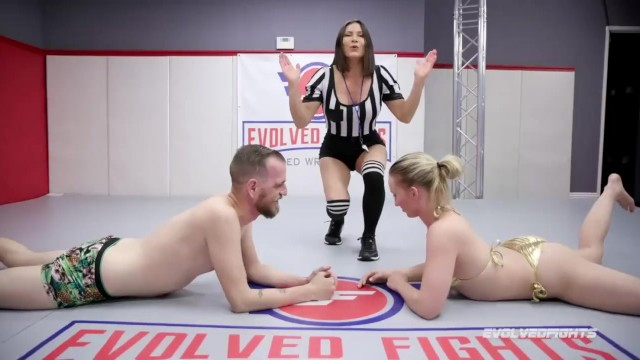Womens sexy lingerie fights - Sexy mixed arm wrestling man vs woman