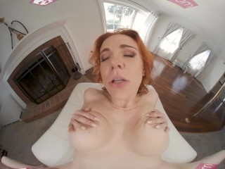 VRBANGERS Horny Redhead Cougar Lets You Pay For House With Your Cock VRPorn