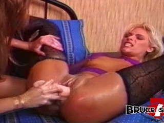 BRUCE SEVEN - Bionca and Debi Diamond Play With Massive Toys main image