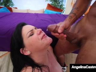 ed Angelna Castro Gets Bg Black Cock Massage Angelina Castro
