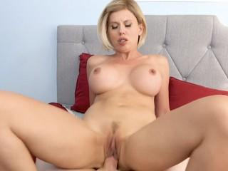 Bg Tt Blonde MLF Rdes Neghbors Bg Cock Amber Chase