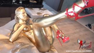 the best golden orgasms -custom clip- – teen porn