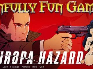 Snfully Fun Game Revews Europa Hazard