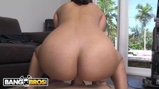 BANGBROS - Stunning Latin Maid Mercedes Carrera Cleans Out My Pipes!