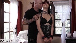 WickedPictures – Gina Valentina Fucked & Whipped In Leather