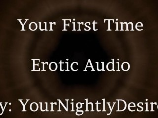 I'll Be Gentle [Virginity] [Kissing] [Aftercare] (Erotic Audio For Women)