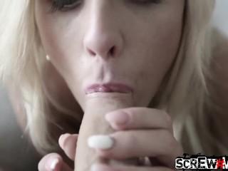 SCREWMETOO Skinny Blonde Russian Vinna Reed Fucks Nice Guy