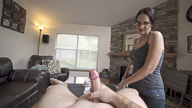 Christina applegate masturbate Massage from my girlfriends hot mom part 2