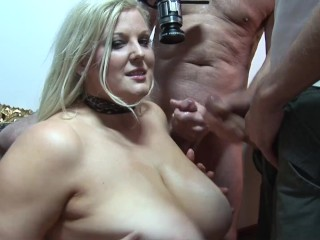 Blonde Mlf Slut Wth Huge Natural Tt Gets Hardcore DP