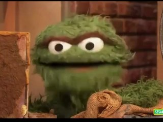 GOAT and your MOM : Sesame Street : Oscar the Grouch
