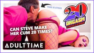 ADULT TIME Bubblegum Dungeon Gia Derza 20 Orgasm Challenge