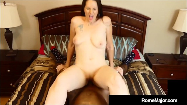 Cougar Cracker Christina Sapphire Fucked By BBC Rome Major!