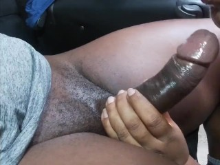 Indian Bbw Loves Licking Black Cock POV Cock Licking