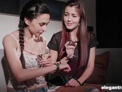 Lesbian Schoolgirls Scissoring In Prague