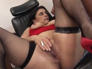 Two Old Perv Guys Fucked Hard Sexy Brunette Mlf Wth Ther Monster Cock