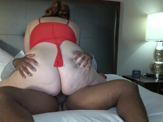 White Wife Stretched By BBC