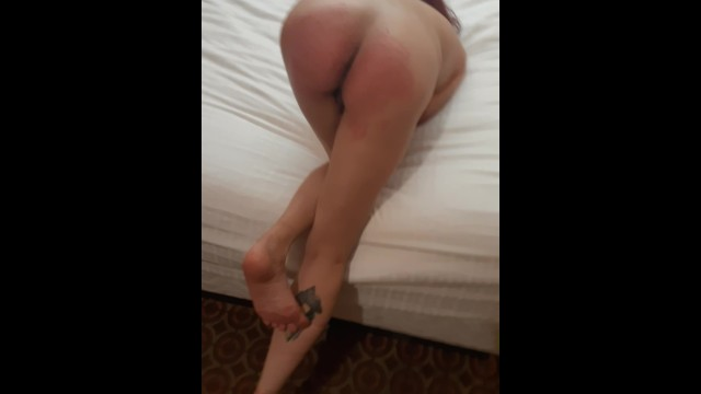 Spot porn Whipped her ass red, hit the sweet spot