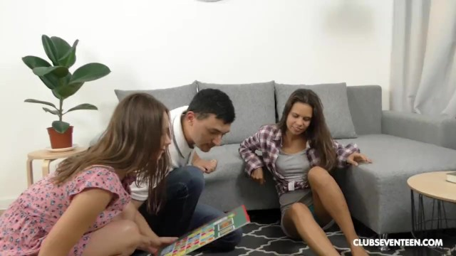 Vintage board game for sale Bi teens playing the fuck game