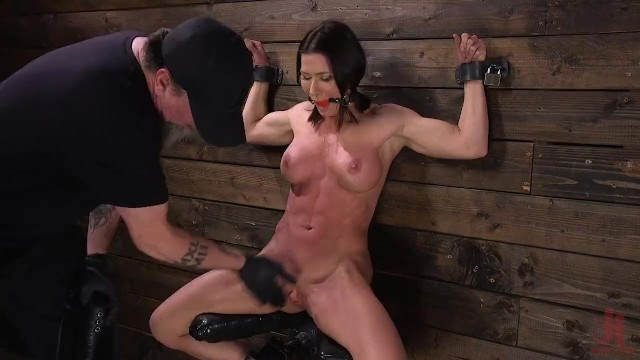 Tracey stripper sopranos ariel Muscle babe ariel x tormented in steel bondage and dpd